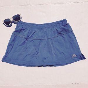 Adidas Supernova Tennis Yoga Workout Skort Skirt