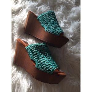 Sbicca Shoes - Sbicca Vintage Collection Wedge Platform Sandal 8