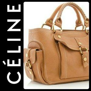 Celine Handbags - Celine Italy Luxury Leather Bag