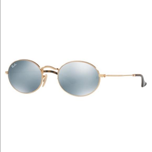 779de0894f Ray Ban 3457 N Oval Flat Sunglasses