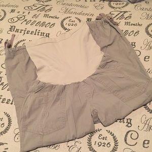 Oh Baby by Motherhood Pants - Maternity khaki capris small