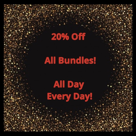 Shoes - 20% Off All Bundles of 2 or More Items Automatic!