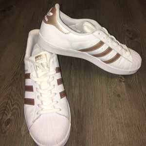 Adidas Shoes - Superstar Adidas in Rose Gold