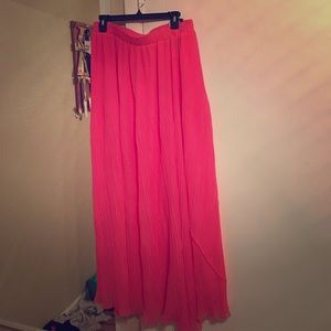 Max & Co. Dresses & Skirts - Pink flared skirt