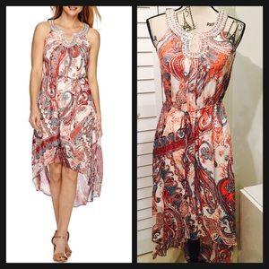 Studio Dresses & Skirts - NWT Beautiful Sleeveless Embellished Collar Dress