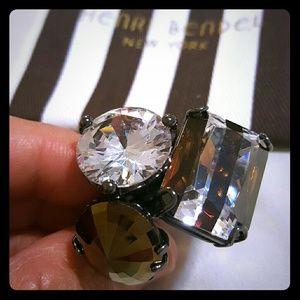 henri bendel Jewelry - Henri bendel trio ring sz 7