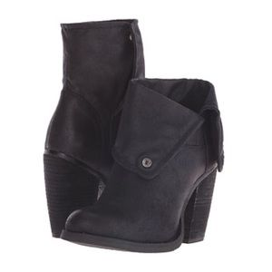 Sbicca Shoes - *NEW* Black fold-over booties by Sbicca