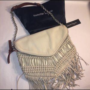 Nanette Lepore Handbags - Nanette Lepore Fringe Clutch