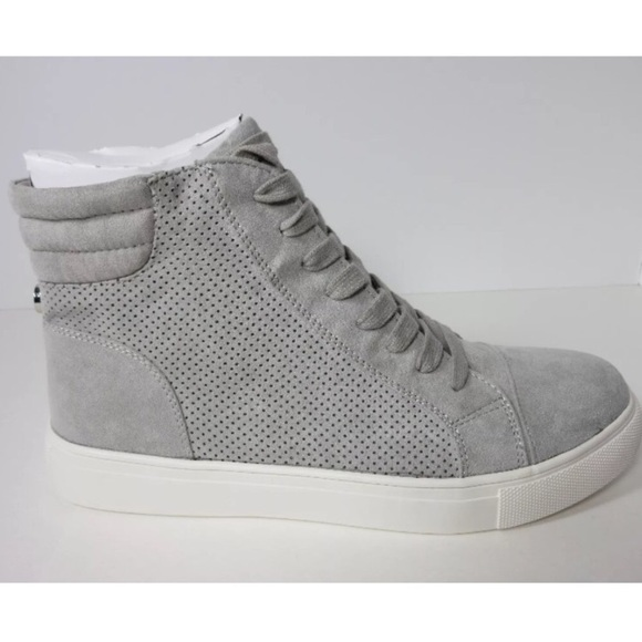 25f06fb6d55 NWT Steve Madden Lt. Grey Demmie High Tops