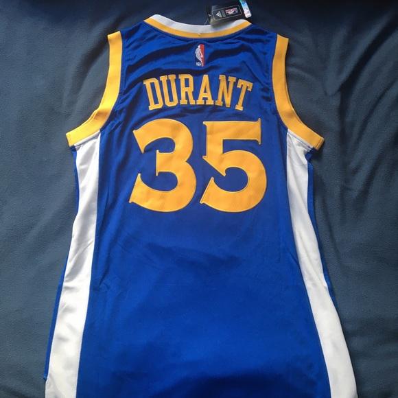 Golden state warriors Durant  35 blue   gold (L) d7cdb5581