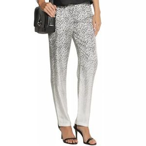 Band Of Outsiders Pants - New Band of Outsiders leopard print silk pants sXS