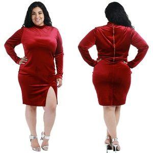 Dresses & Skirts - Plus size burgundy dress 1x 2x 3x