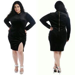 Dresses & Skirts - Plus size black dress 1x 2x 3x