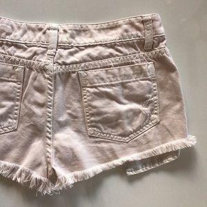 Carmar Pants - [CARMAR] distressed rose denim jean shorts 28
