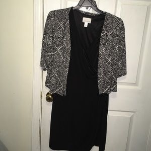 simply emma Dresses & Skirts - Black and white dress