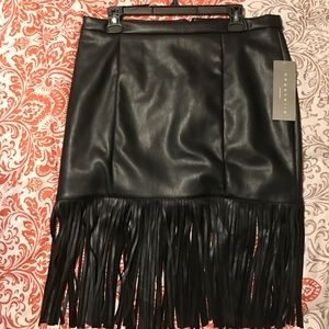 Bagatelle fringe skirt 2 hr SALE!! Price Drop!!
