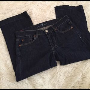 7 For All Mankind Pants - Dojo 7 for all mankind Capri jeans
