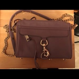 Rebecca Minkoff Handbags - Rebecca Minkoff Mini Mac Crossbody Purple/Lavender