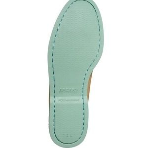 Sperry Shoes - PERFECT Condition Teal Sole Speedy Boat Shoe