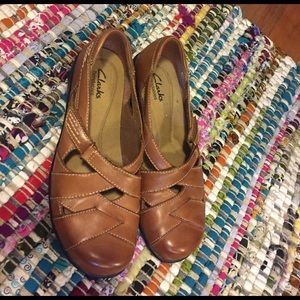 Clarks Shoes - Clarks Bendables with weave front
