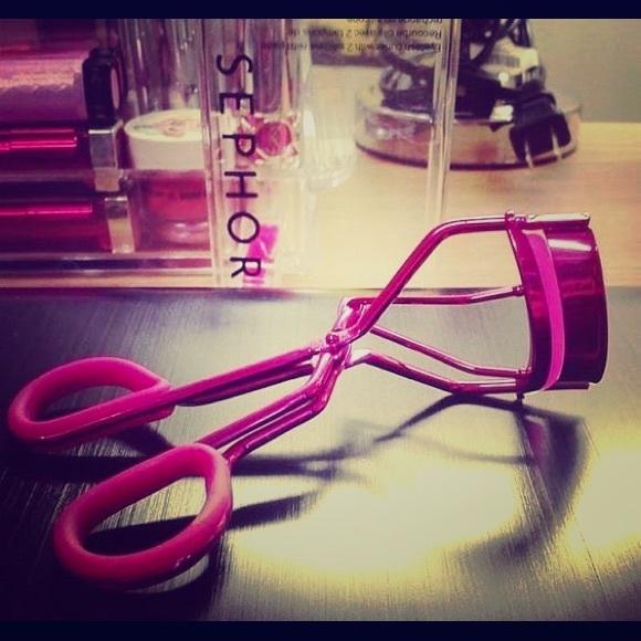 Sephora Makeup Hot Pink Eyelash Curler Poshmark