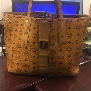 MCM Handbags - MCM Medium Liz Reversible Shopper
