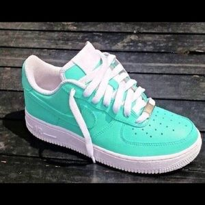 Nike Other - Nike Air Force One Turquoise low