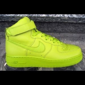 Nike Other - Nike Air Force One lime