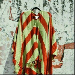 Ketzali Accessories - Ketzali Mexa Kimono Poncho