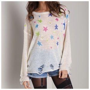 WF Nighttime Lennon Sweater [champagne]