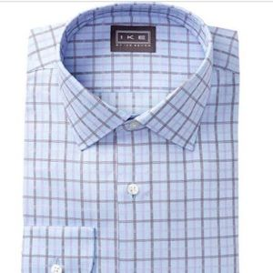 Ike Behar Other - Ike Behar spread collar dress shirt