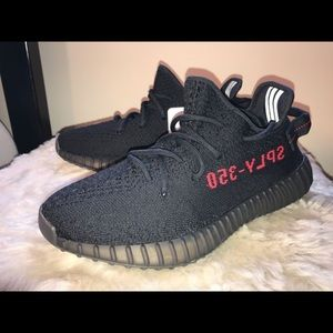 Yeezy Other - Adidas Yeezy 350 V2 Black Red 2017 Bred Boost