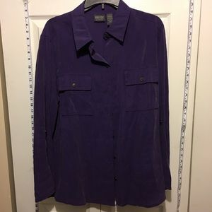 Chico's Tops - 30% Off Bundles Chico's Soft Purple Button Up