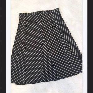 ECI Dresses & Skirts - ECI New York Black/White A-Line Skirt, 4