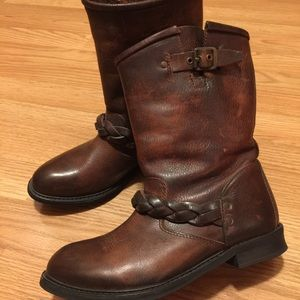 H By Hudson Shoes - H by Hudson Albion Biker Boots | UK 37 US 6