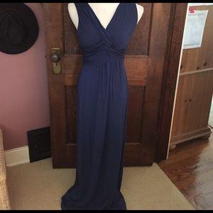 Maxima Dresses & Skirts - Royal Blue Soft Jersey Maxi dress