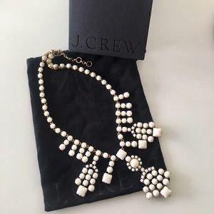 J. Crew Jewelry - J. Crew Stone Grid Necklace
