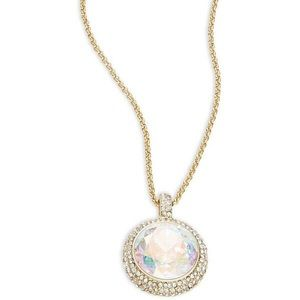 Kate Spade Absolute Sparkle Faceted necklace