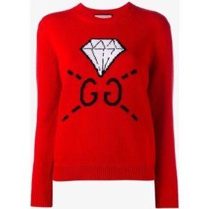Similar Gucci diamond wool knit
