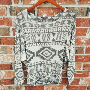 Sweaters - Super Lightweight Aztec Sweater