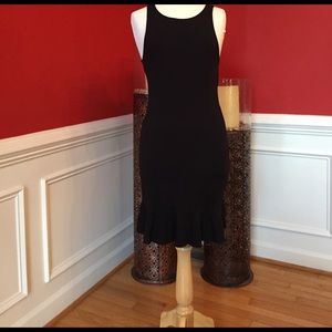 South Moon Under Dresses & Skirts - Little Black Dress with Mesh back and flare bottom