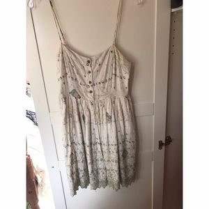 Free People Dresses & Skirts - Free people white lace dress