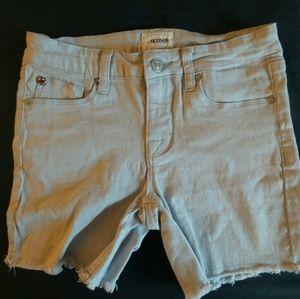 Girls Hudson cut off jean shorts