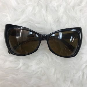 House of Harlow 1960 Accessories - House of Harlow 1960 Aly Brown Cat Eye Sunglasses