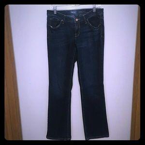 Mossimo Black Denim - Dark blue jeans (Mossimo black from target)