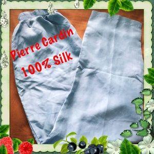 Pierre Cardin Pants - Pierre Cardin / Silk Pants / Vintage / 100% Silk