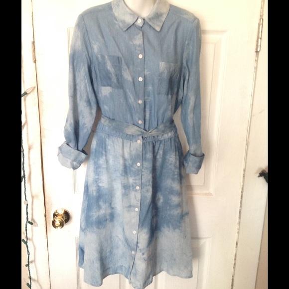 26acf69388 AGB Dresses   Skirts - 🔥SALE🔥AGB Blue Jean Dress