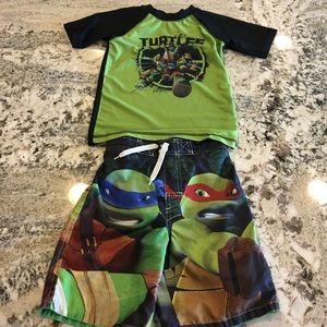 Nickelodeon Other - SALE 🎉 Boys Swim: Ninja Turtle