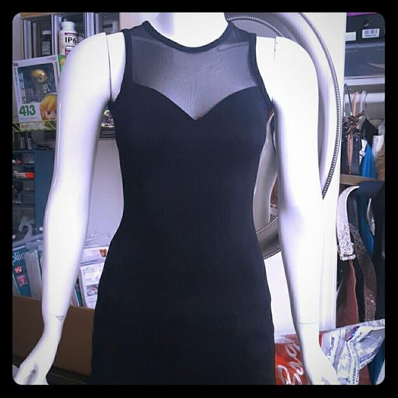 team usa Dresses & Skirts - Sexy mesh long dress backless