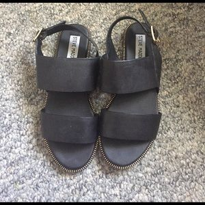 Steve Madden Shoes - New Without Tag Steve Madden Black Sandals